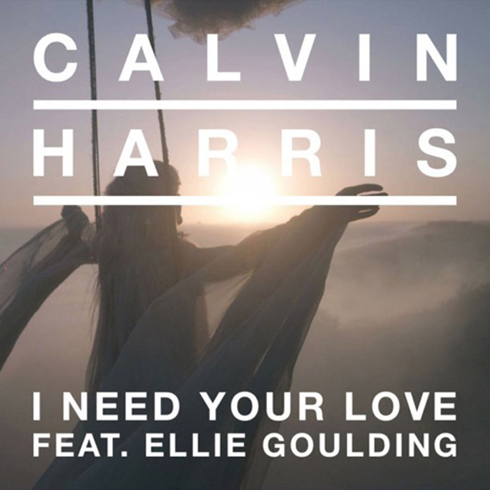 I Need Your Love Calvin Harris I Need Your Love Album Cover
